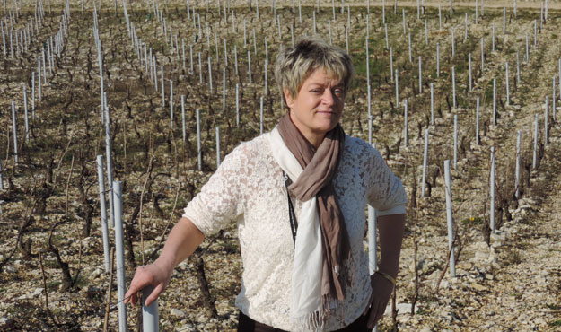Clotilde Davenne, domaine Les Temps Perdus