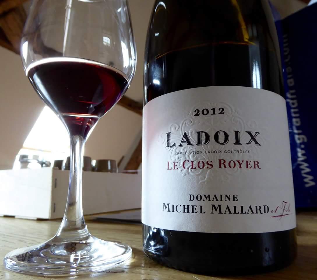 """Bourgogne Ladoix village """" Le Clos Royer"""" Domaine Michel Mallard et fils"""